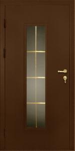 Дверь в частный дом стекло